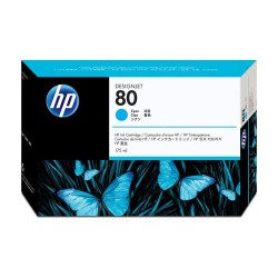 Cartucho HP 80 de 175 ml cian