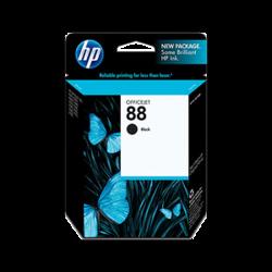Cartucho negra HP 88