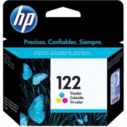 Cartucho tricolor HP 122